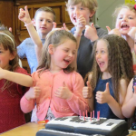 Sing happy birthday entertainment magic childrens